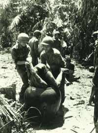 Water torture: a technique widely used during the Vietnam war.