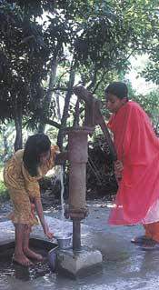 Water on demand in the villages – but is it contaminated with arsenic?
