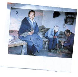 A photograph smuggled out of Drapchi prison in Tibet.