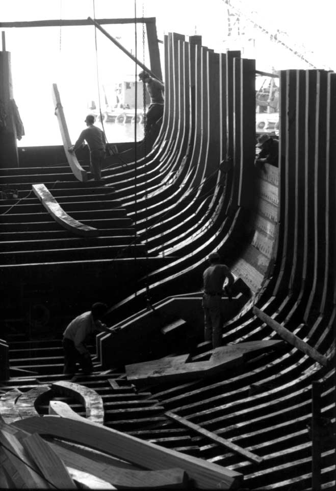 --Ship building in Macau-- Photo by Ng Chi Ho, Southeast Asia.