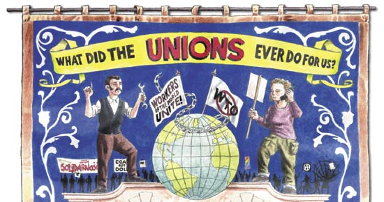 What did the Unions ever do for us?