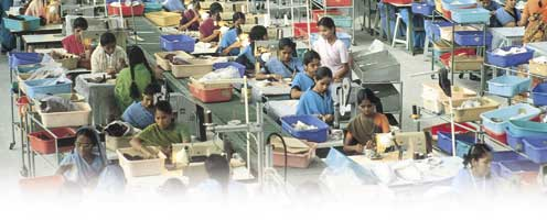 Hours are long for the women in Tamil Nadu's textile trade – the factory as a work site pulls time out of nature.