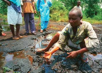 Weapons of mass destruction: the enviromental legacy of leaking oil pipelines in Ogoniland, 1993.