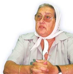 Hebe de Bonafini: 'I am convinced that if there are no revolutions in Latin America, then we'll never be liberated.'