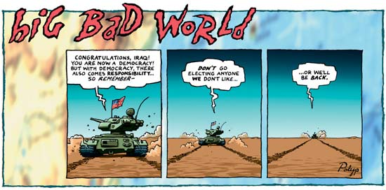 Big Bad World by P J Polyp
