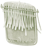 The traditional mbira long devalued by the white colonizers, became a key symbol in the Zimbabwean struggle for freedom.