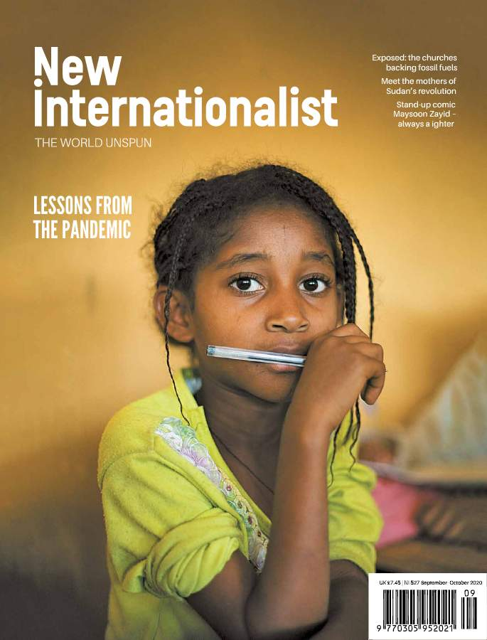 New Internationalist issue 527 magazine cover