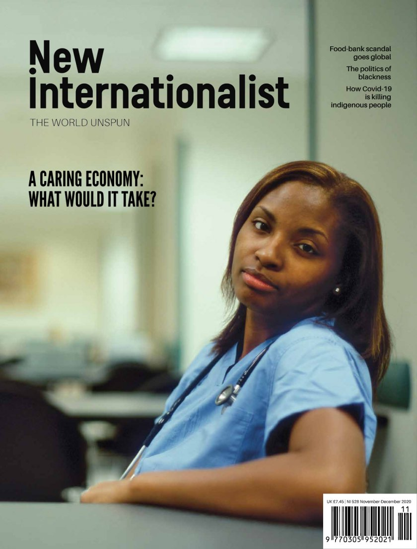 New Internationalist issue 528 magazine cover
