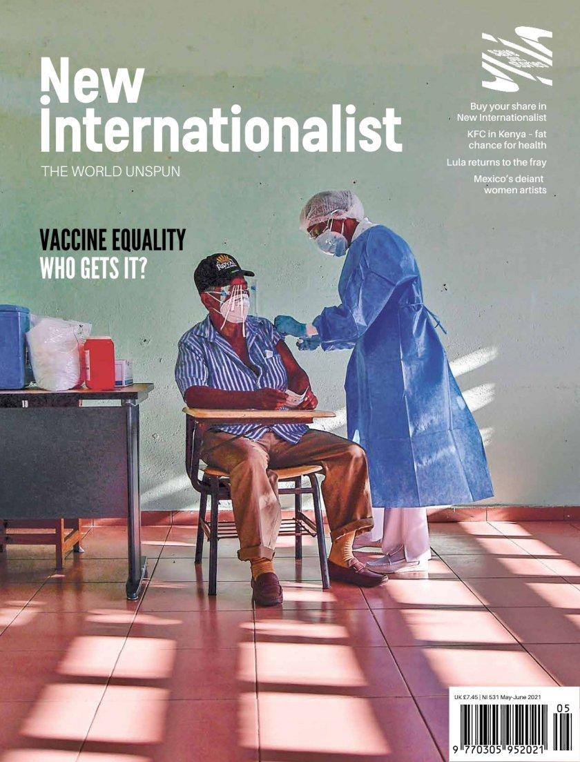 New Internationalist issue 531 magazine cover