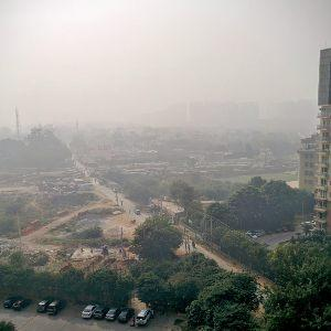 Air pollution India: Smog near Delhi. Photo: Saurabh Kumar, Creative Commons