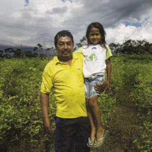 Illicit crops are still the only option for farmers like Arnulfo Perdomo.