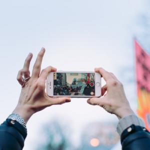 Technology is affecting the way people take part in protest.