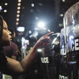 Protests raged for days after Keith Lamont Scott was shot dead by police in Charlotte, North Carolina, September 2016
