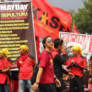 Organized labour is under attack in Indonesia