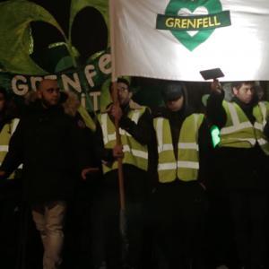 Grenfell silent walk