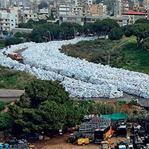 Lebanon's trash  #StopTheBurning campaign last week after it was revealed that staff at the landfills had been instructed to burn the vast amounts of garbage leftover by the 2015 crisis.