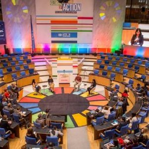 United Nations SDG Goals Annual Gathering,Opening Plenary on Day Two 21-23 March 2018, Photo Credit: Neil Baynes/Flickr
