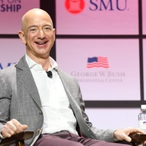 Bezos has a net worth higher than the individual GDPs of 141 of the world's countries.