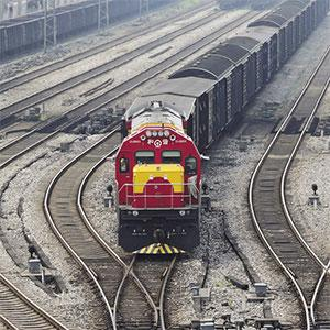 A freight train that originated in Duisburg, Germany arrives in Dazhou, China.