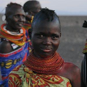 The Turkana are a nomadic people, mainly based near Lake Turkana in north-west Kenya. Photo: Filiberto Strazzari, CC-BY-2.0