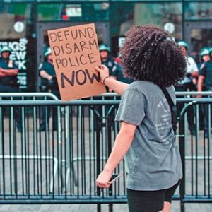 Defiantly demanding change in Brooklyn, New York. SAANYA ALI/MAJORITY WORLD