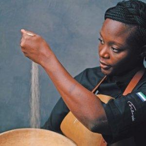Chef Fatmata Binta puts the ingredient fonio – a  nutritious, gluten-free and fibre-rich grain – centrestage in  her Fulani Kitchen in Ghana