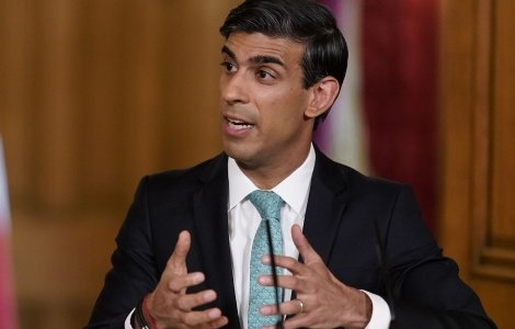 UK Chancellor of the Exchequer Rishi Sunak jettisoned the UK's pledge to retain the UK's0.7 per cent foreign aid commitment this week. Credit: Andrew Parsons