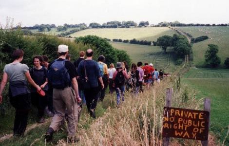 Free-walking ('trespassing') is vital to building community-wide knowledge of local ecosystems.