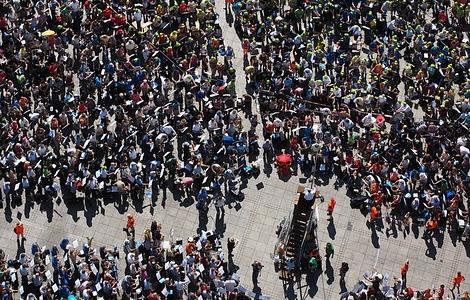 Since the 1970s, the world's human population has doubled to 7.7 billion.