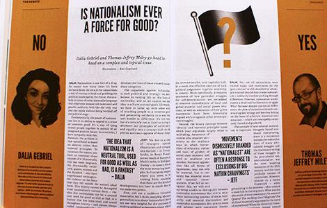 New Internationalist relaunch print magazine