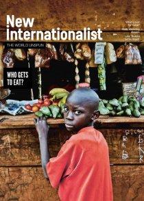 New Internationalist Magazine: front cover
