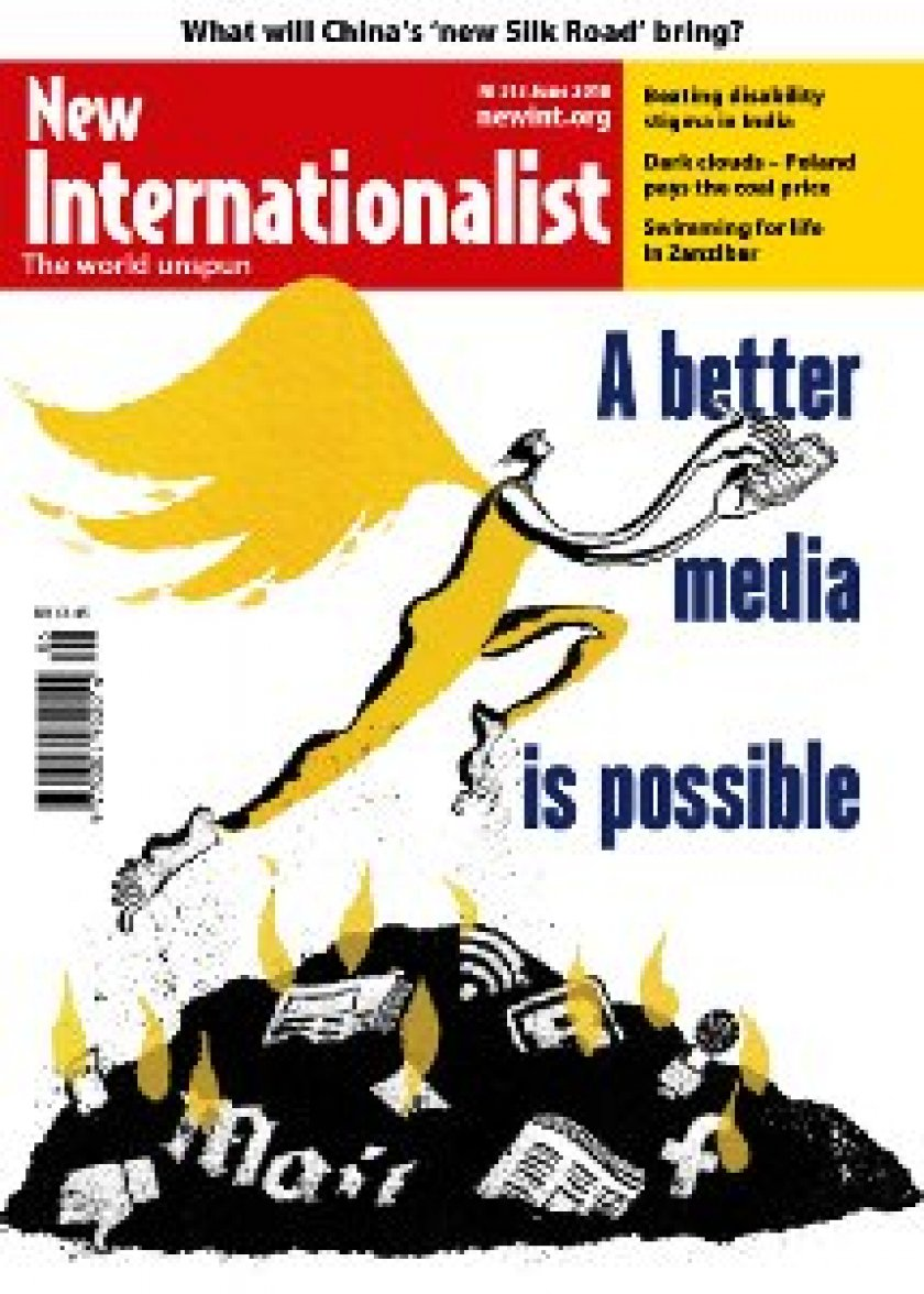 Cover of New Internationalist magazine