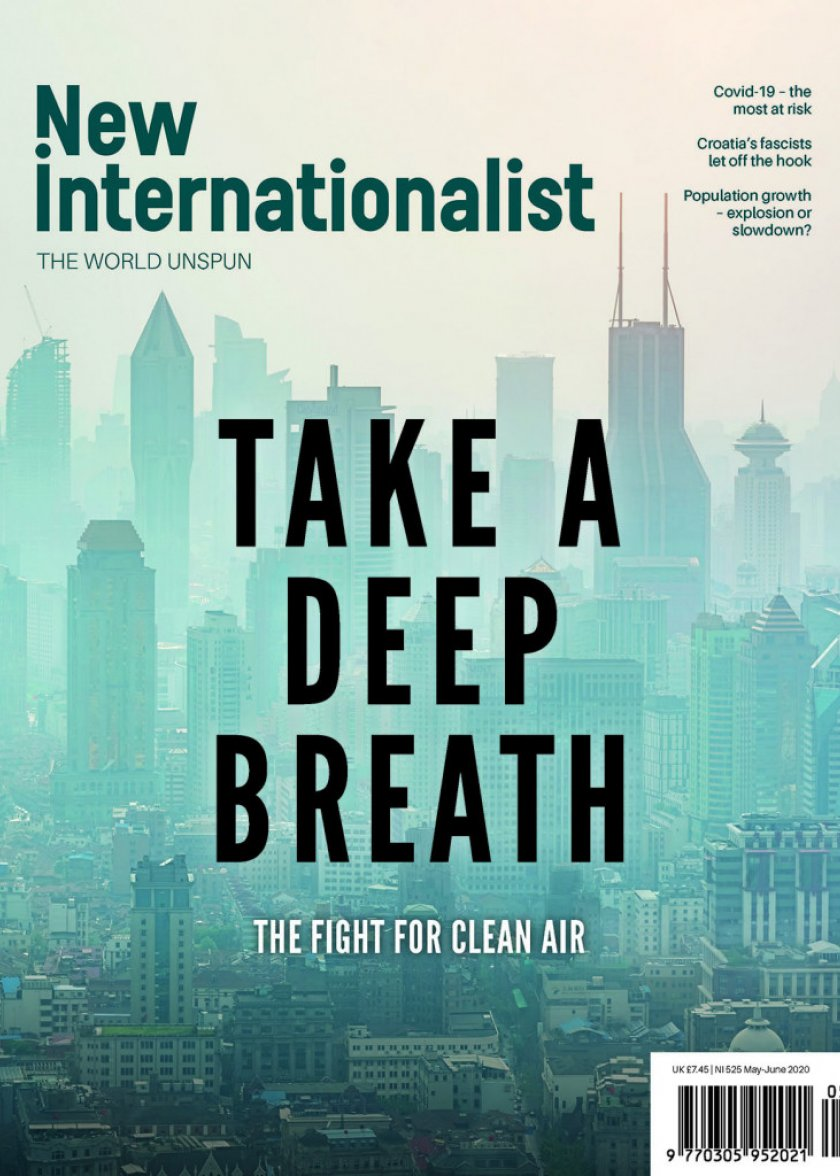 New Internationalist Magazine: front cover