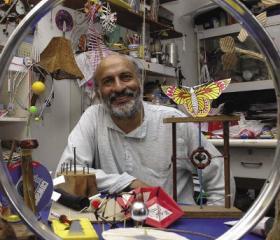 Arvind Gupta in his lab. Ashok Rupner