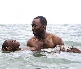 Barry Jenkins' Moonlight, a magnificent drama about a boy growing up gay in Miami.