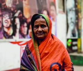 Bulu Bari is a regular at the Bangladesh Film Development Corporation complex - but work is scarce.