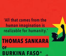 Sankara's platform centred on anti-imperialism