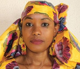 Hindou Oumarou Ibrahim is an environmental activist