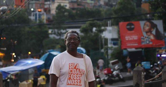 Firmino, pictured in Rocinha. Credit: Alessio Perrone