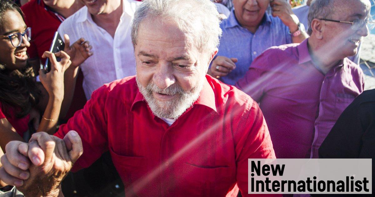 959ba31bef7e7 Brazil's rich weaponize law to stop Lula campaign | New Internationalist