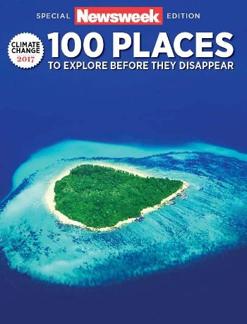 Image result for climate change magazine cover atolls
