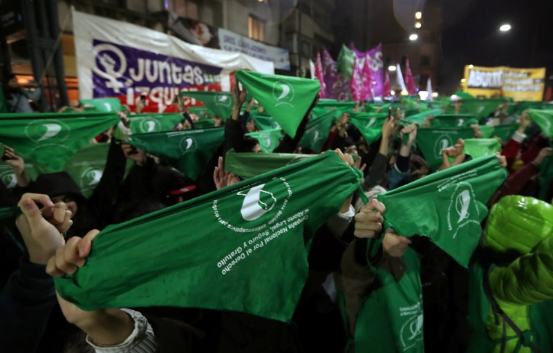 Argentina S Women Fight For Safe Free And Legal Abortion