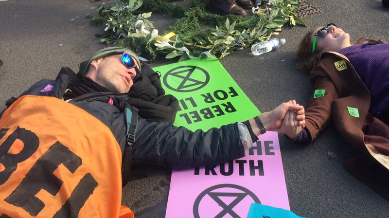 A new climate breakdown resistance movement is forming. We spoke to leading activists in the movement who feel civil disobedience is the only way forward