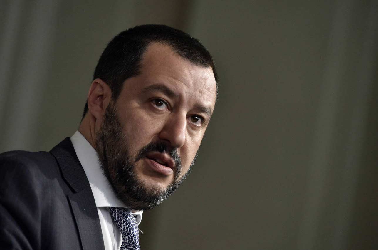 Matteo Salvini (Italian pronunciation: [matˈtɛːo salˈviːni];[1][2] born 9 March 1973) is an Italian politician serving as Deputy Prime Minister of Italy and Minister of the Interior since 1 June 2018. He has also been Federal Secretary of Northern League since December 2013 and the leader of Us with Salvini since December 2014. He has been a Senator in the Italian Senate since March 2018. He previously served as a Member of the European Parliament (MEP) for the constituency of North-West Italy from 2004 to 2018.[3]