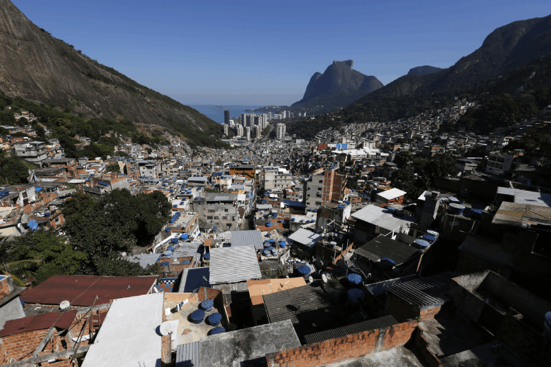 "A general view of the Rocinha favela, one of the slums that was included in the ""police pacification unit"" program that began in 2008, in Rio de Janeiro, Brazil, July 24, 2016. REUTERS/Bruno Kelly"
