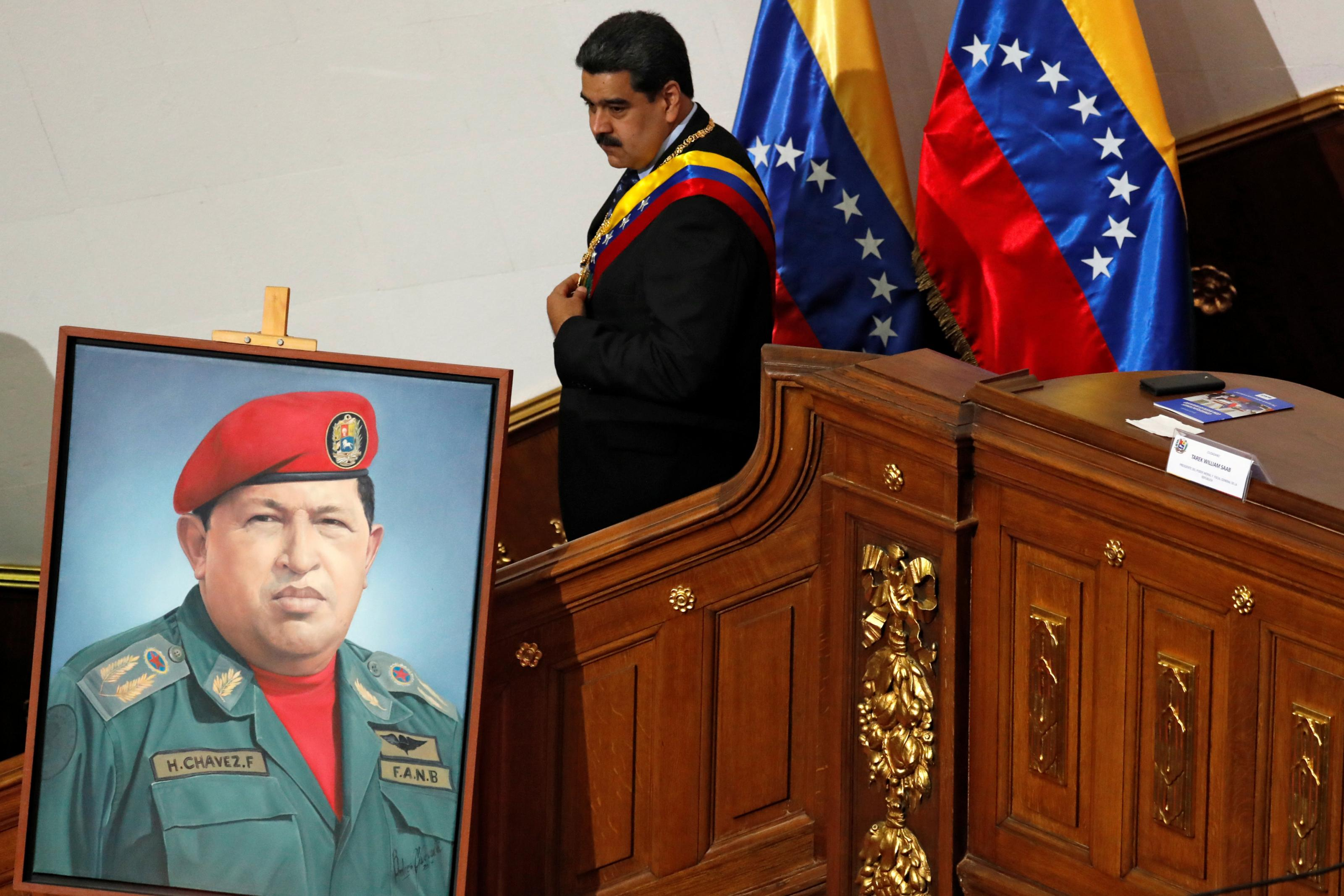 Whatever you think of Maduro 'regime change' is up to Venezuelans