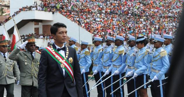 """Deputy Minister Luwellyn Landers attends inauguration of Madagascar President Andry Rajoelina, 19 January 2019"" by GovernmentZA is licensed under CC BY-ND 2.0"