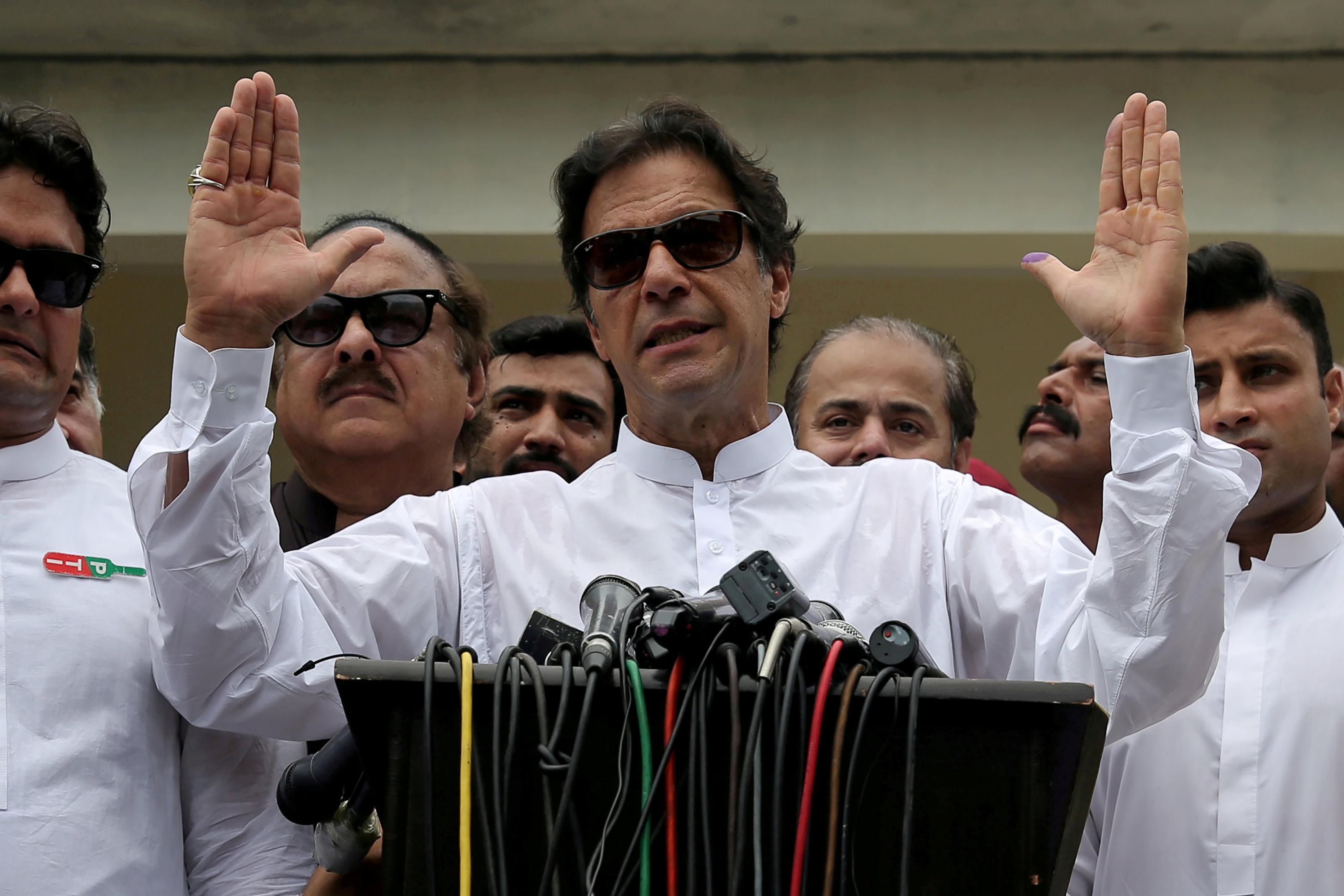 Imran Khan, the Oxford-educated former playboy cricketer, and now, Prime Minister of Pakistan