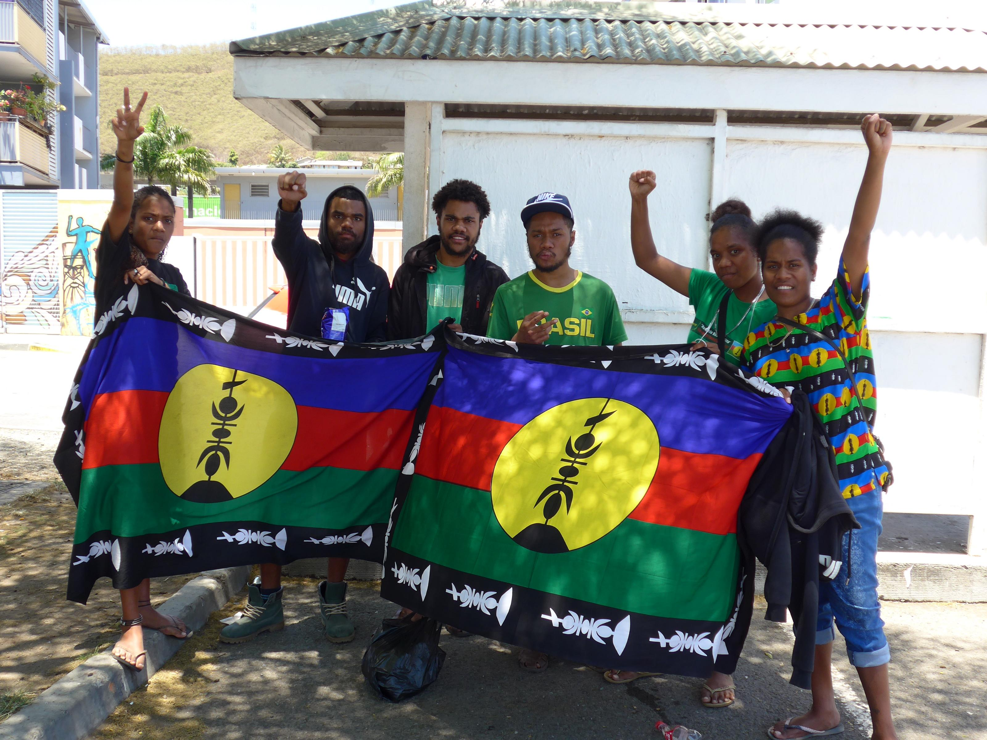 Photo: Massive youth vote for independence in Kanaky-New Caledonia (photo Nic Maclellan)