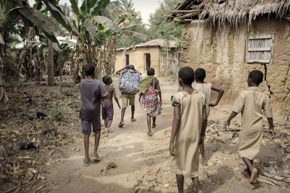 Togo and Benin children in a place of safety